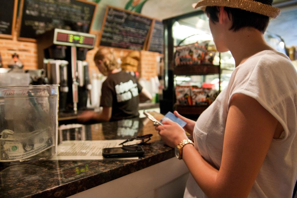 Grabbing beignets at Cafe Beignet. Photo by Robert Giglio